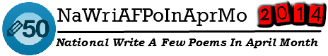 NaWritePoemsInApril Logo