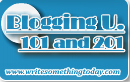 Blogging U - 101 and 201 Logos Ver 1