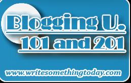 Blogging U - 101 and 201 Logos Ver 1